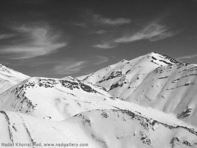 Nader Khorrami Rad, Mountains. 007
